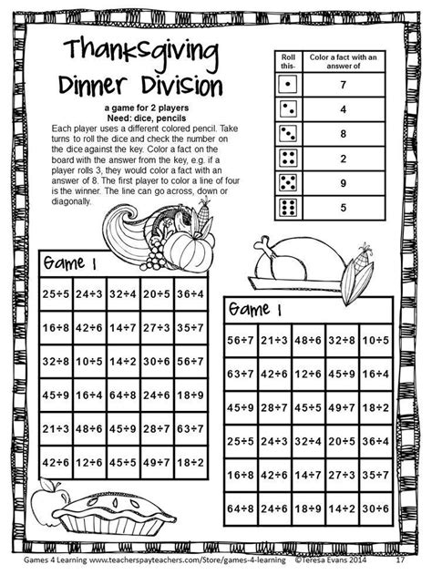 printable division games comfortable math activities for 3rd grade gallery