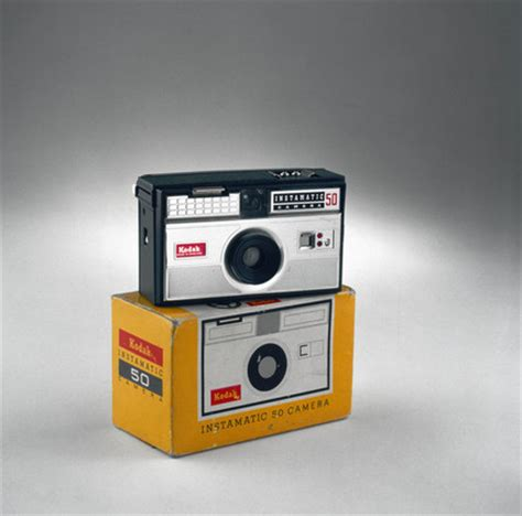 kodak instamatic 50 camera, 1963 1966. at science and