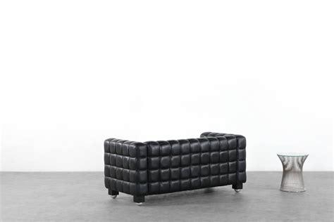 sofa jugendstil josef hoffmann kubus sofa wittmann austria design bauhaus