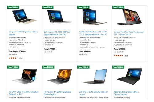 laptop deals canada cyber monday