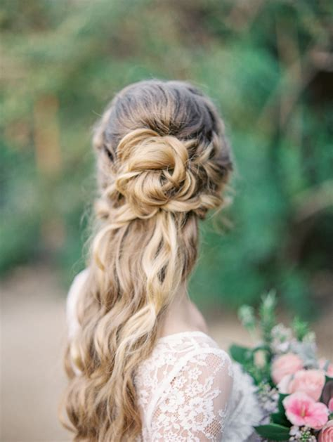 Half Up Half Wedding Hairstyles Photos by 16 Stunning Half Up Half Wedding Hairstyles