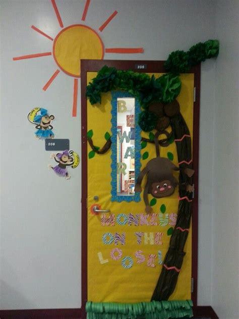 monkey classroom door decoration creations
