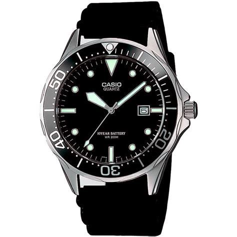 Casio Diver gents casio divers mtd 1051d 8avef watchshop com