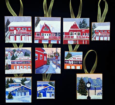 dartmouth xmas ornaments ornament painting on canvas www imgkid the image kid has it