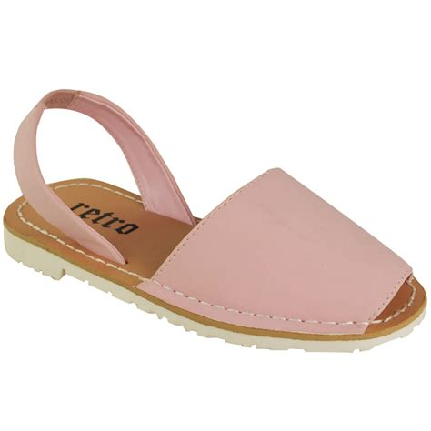 childrens sandals childrens summer menorcan sandals sling back