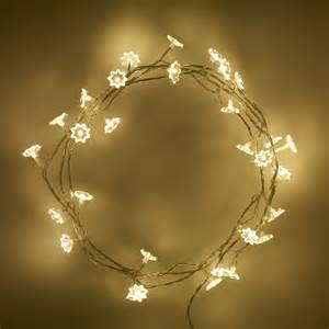Fairies Lights 30 Warm White Led Sunflower Indoor Lights Lights4fun Co Uk