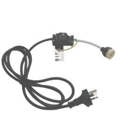 electric cord with bulb sockets gu10 socket with power cord