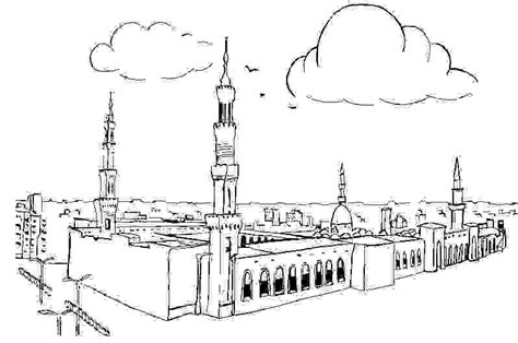 printable pictures kaaba free the kaaba coloring pages