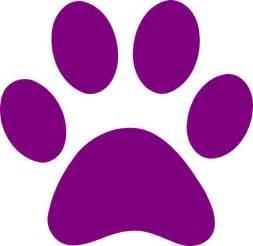 purple clip art purple paw print clip art vector clip art royalty free