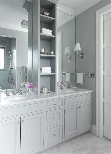 bathroom mirror height from floor grey grey bathrooms and vanities on