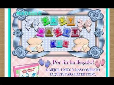 aprendiendo a decorar un baby shower descargar curso para organizar y decorar un baby shower invitaciones recuerditos y mucho