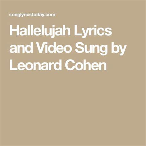 best version of hallelujah song best 25 hallelujah lyrics ideas on panic at