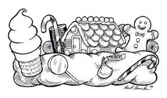 Candyland drawings candyland