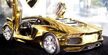 Most Expensive World S Most Expensive Things Made Of Gold Top 10 Alux