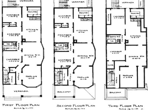 brownstone row house floor plans row house plans historic brownstone floor plans