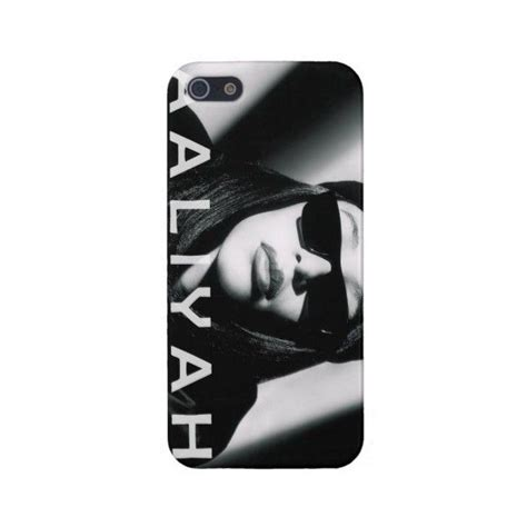Aaliyah Y0238 Iphone 5 5s aaliyah iphone found on polyvore phone cases