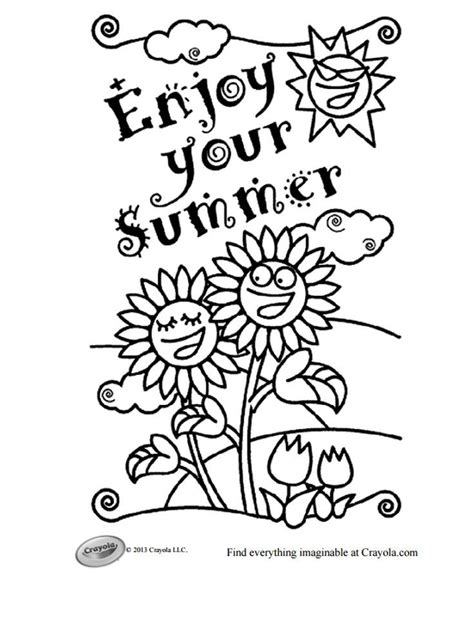 best sheets for summer 17 best ideas about summer coloring pages on pinterest