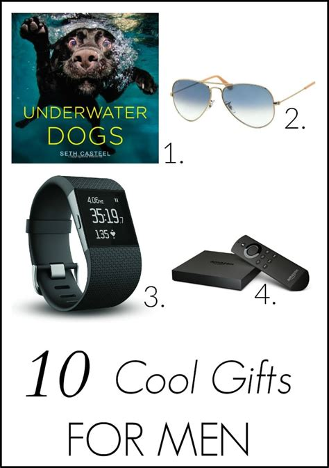 cool gifts for guys cool gifts for that he ll setting for four