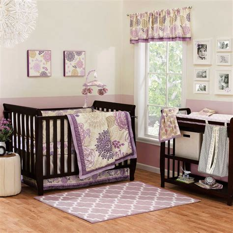 Dahlia Nursery Bedding Set The Peanut Shell Dahlia Crib Bedding And Accessories Baby Bedding And Accessories