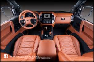 how to shoo car interior at home mitsubishi pajero by vilner studio 2013 interior design
