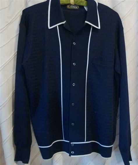 italian knit shirts vintage 60 s l virany knit shirt made in italy great