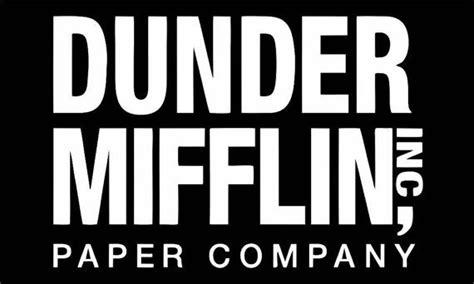 Dunder Mifflin 5 dunder mifflin paper high quality decal bumper by