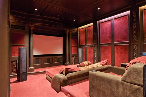 theatre room lounges even non soccer fans will get a kick out of these media rooms dpm real estate