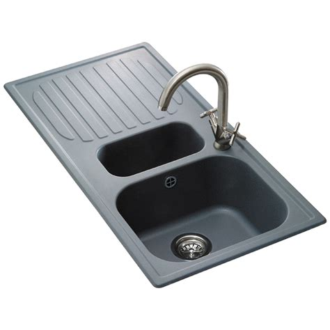 composite kitchen sinks uk reginox torino composite granite kitchen sink rgt15 fg