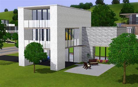 sims 3 maison moderne avec abris auto architecture maison house jeu les sims 3