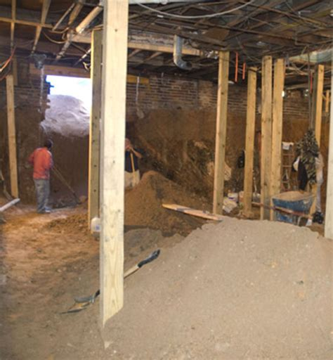 turning a crawl space into a basement rooms