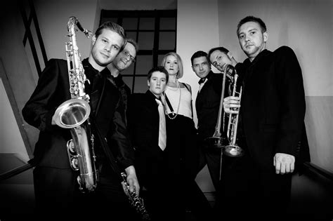swing band leaders julian dann photography photo shoot for pinstripe suit live