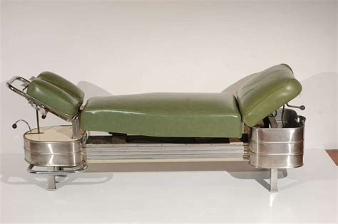 chiropractic benches 1940s chiropractor bench for sale at 1stdibs