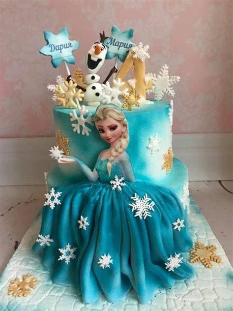 eliza frozen birthday cake  girls frozen party en  frozen birthday cake birthday