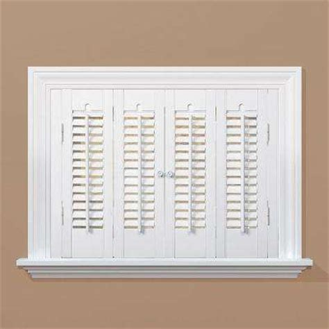 interior wood shutters home depot wood shutters plantation shutters window treatments