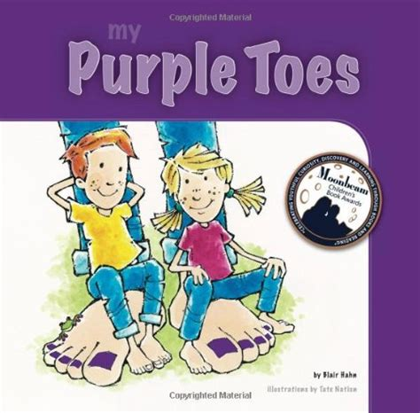 wiggly toes books purple toes the book activity