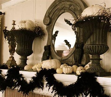 elegant halloween home decor 50 ideas for elegant black and white halloween decor