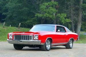 1972 Chevrolet Monte Carlo 1972 Chevrolet Monte Carlo Pictures History