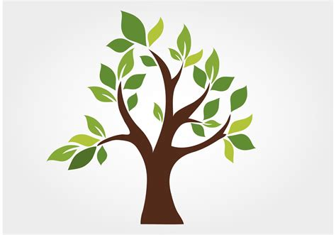 tree logo vector free stylized vector tree free vector stock