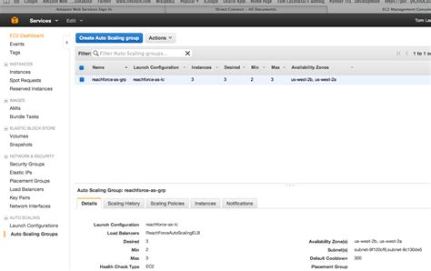 aws console enterprise in the cloud autoscaling in aws console