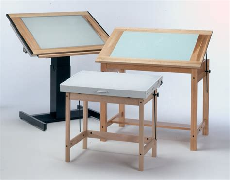 Lighted Drafting Table Drafting Tables Image Of Drafting Light Up Drafting Table