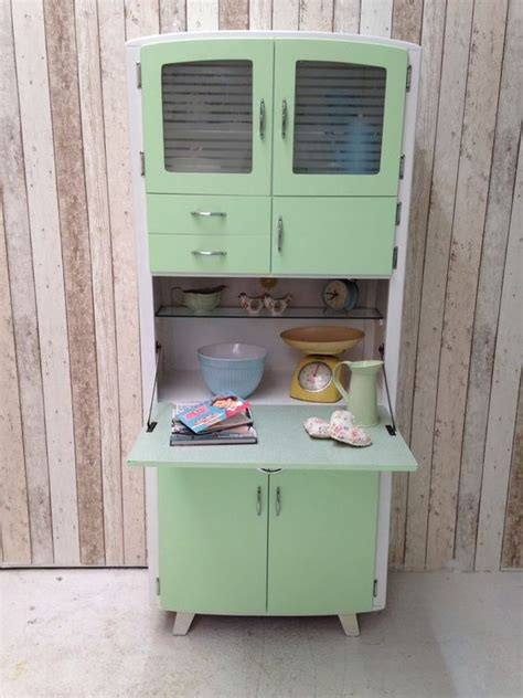 Retro Cabinets Kitchen Vintage Retro Kitchen Cabinet Cupboard Larder Kitchenette 50s 60s Mid Century Retro Kitchens