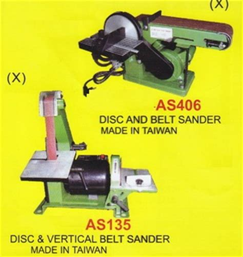 Mesin Las Listrik Belt Disk Sander product of mesin kayu wood machinery supplier perkakas teknik distributor perkakas teknik