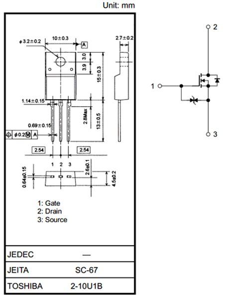 transistor fet y mosfet pdf k3569 datasheet vdss 600v mosfet transistor toshiba