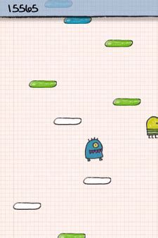 doodle jump how to survive ufo abduction webnerd me doodle jump iphone is simple yet challenging