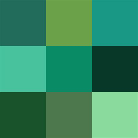 colors of green file color icon green v2 svg wikimedia commons