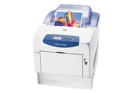 xerox color printer phaser 6360 color printers xerox