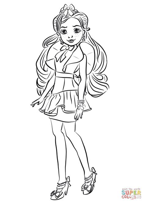 coloring pages of disney descendants top 10 disney descendants 2 coloring pages