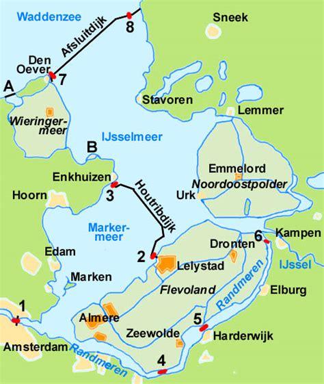 map ijsselmeer netherlands zuiderzee