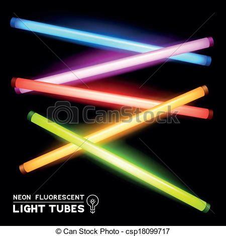 neon fluorescent light royalty free vector