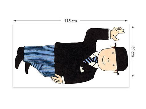 mr wall stickers mr benn suit childrens wall sticker by the binary box
